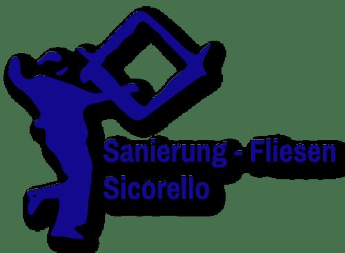 Logo Sanierungen Fliesen Sicorello blau